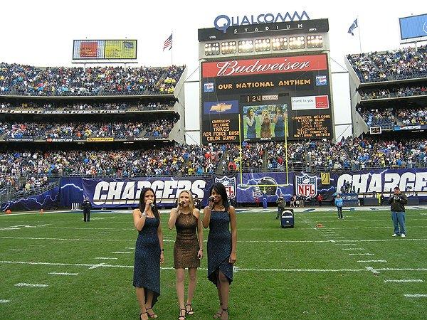 San Diego Chargers Qualcomm Stadium