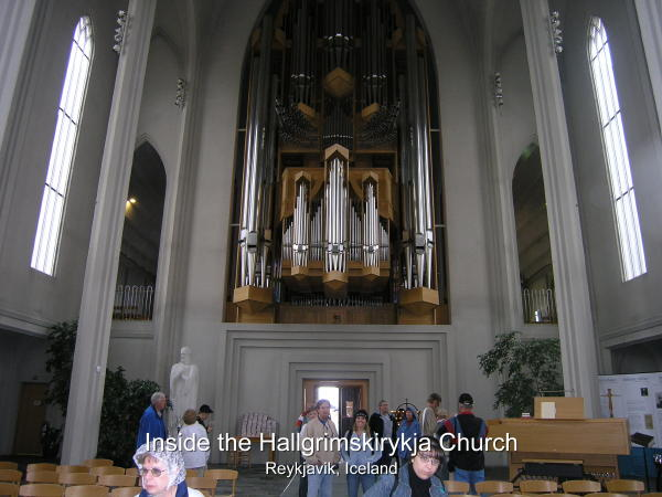 Church Houses An Impressive Pipe Organ
