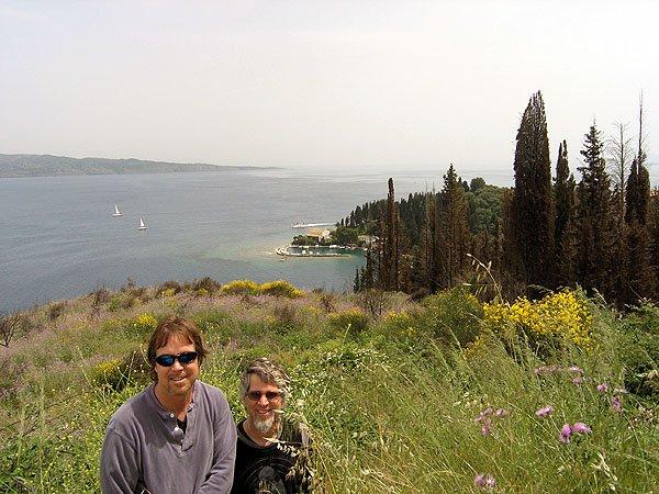 Corfu Lies Off The Coast of Albania
