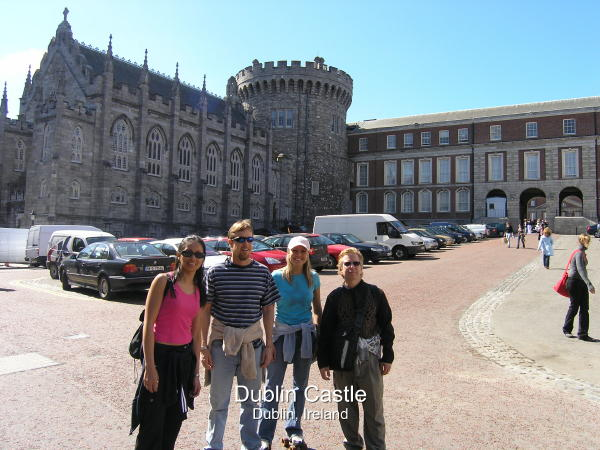 Dublin Castle in Dublin