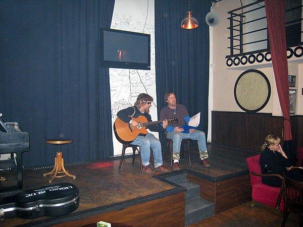 Duo At Cafe Studio