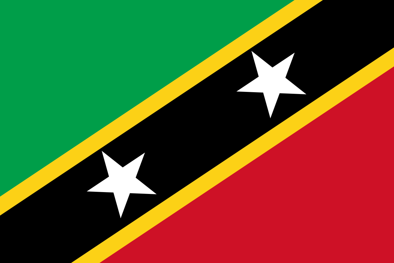 Flag of St. Kitts & Nevis