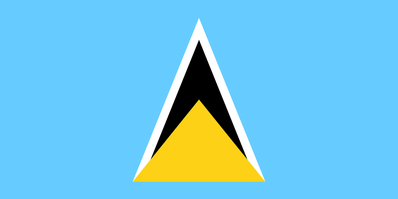 Flag of St. Lucia