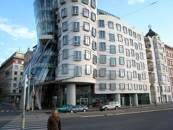 Fred Ginger Dancing House