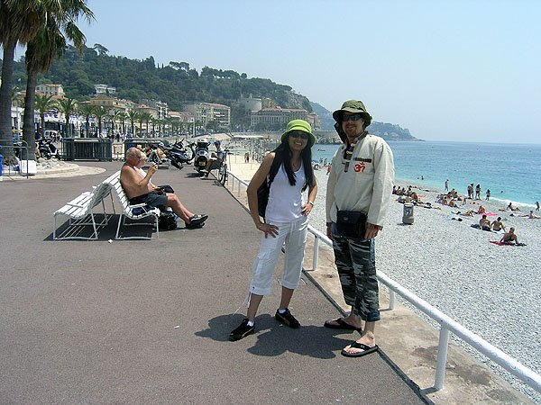 French Riviera In Nice