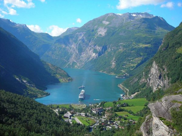 Geiranger Fjord Is Listed