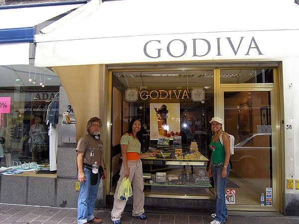 Great Chocolate And Is The Home Of Godiva