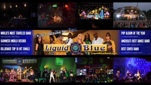 Liquid Blue Banner