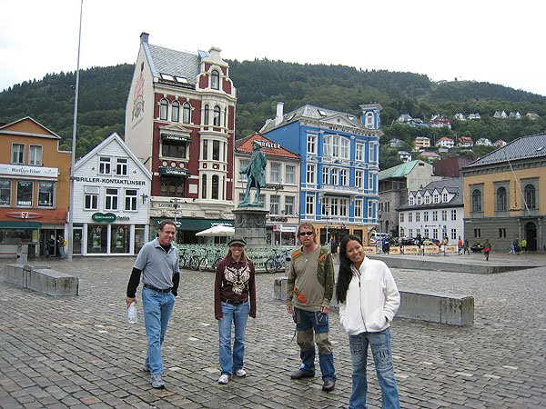 Main Square of Bergen