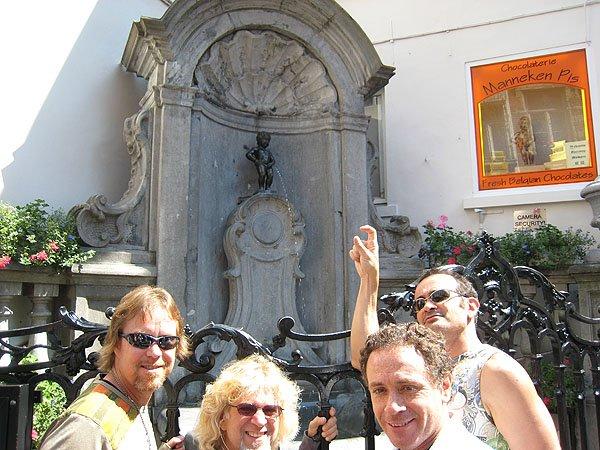 Manneken Pis Brussels Landmark