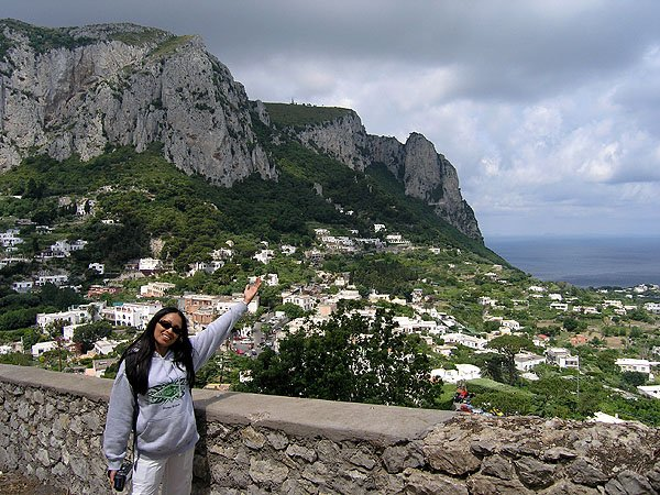 Many Celebrities Spend Holidays In Capri