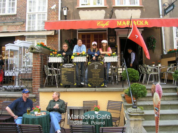 Mariacka Cafe A Great Place