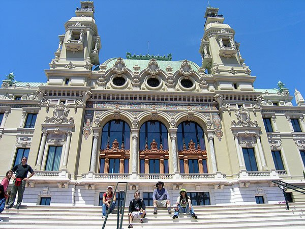 Opulent Place Du Casino In Monte Carlo