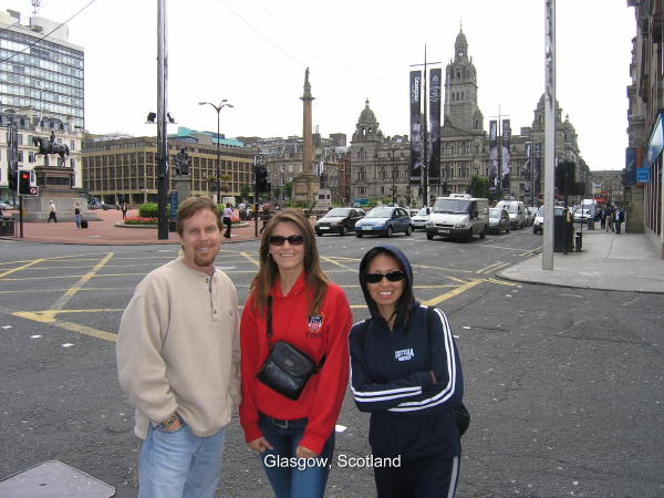 Our First Trip to Glasgow