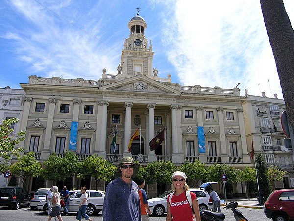 Overlooking La Plaza De San Juan Dios