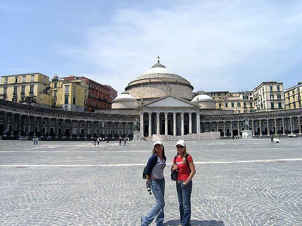 Piazza Plebiscito The Largest Plaza In Naples