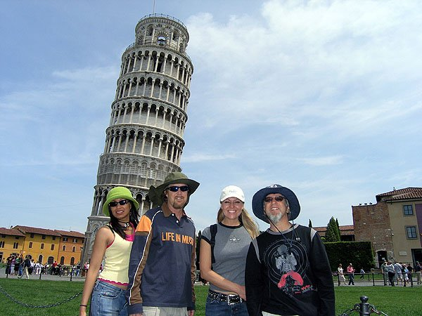 Pisa City In Tuscany