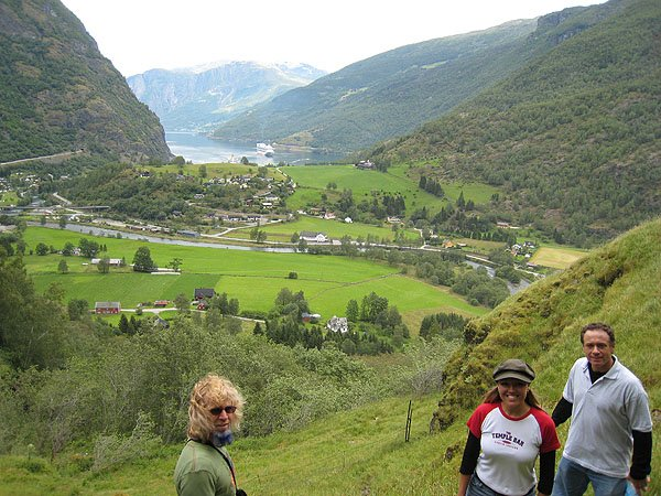 Rallarvegen Road Between Flaam and Finse