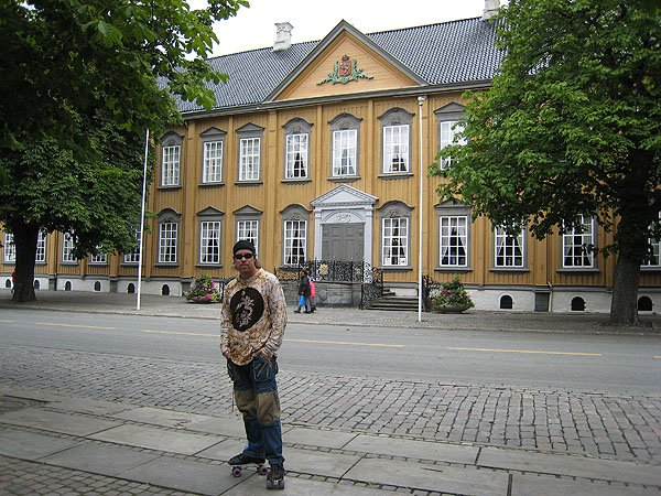 Royal Residence In Trondheim