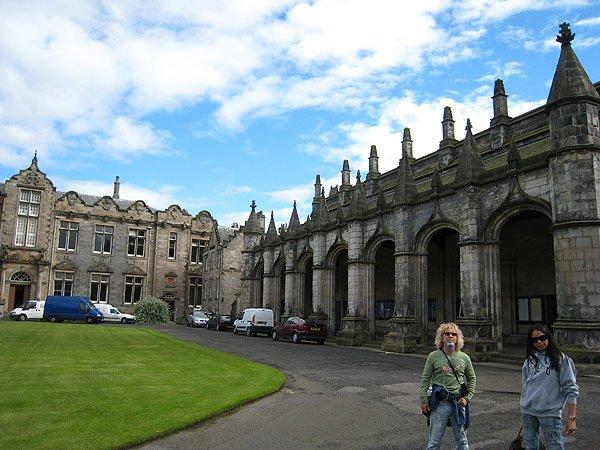 Salvators Chapel at University