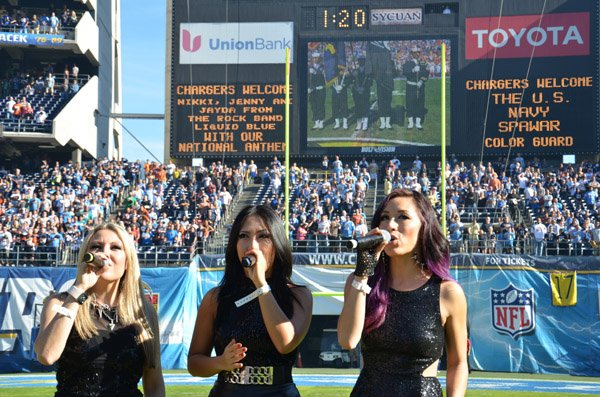 San Diego CA at Qualcomm Stadium