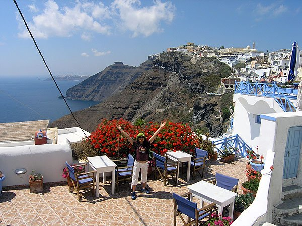 Santorini Beautiful Places