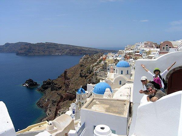Santorini Is Famous