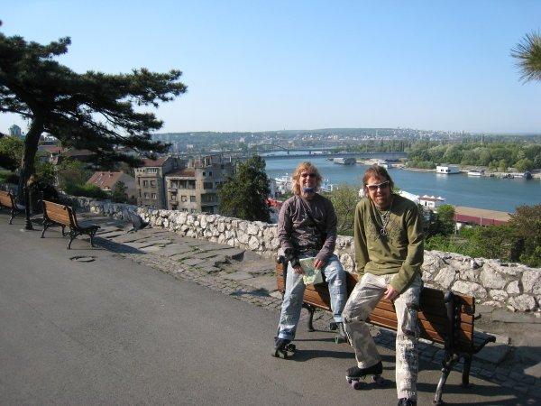 Sava and Danube Rivers