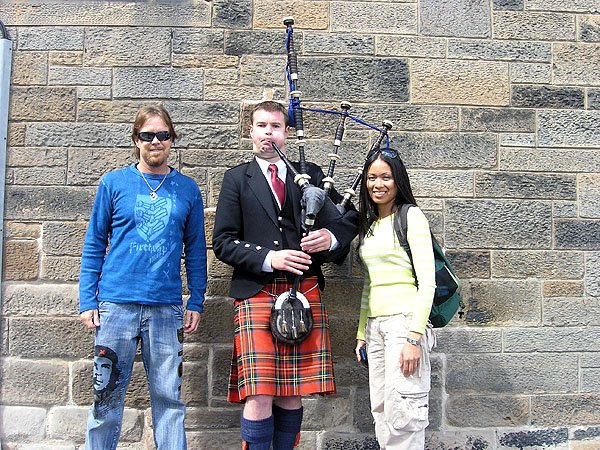 Scotland Famous Bagpipers