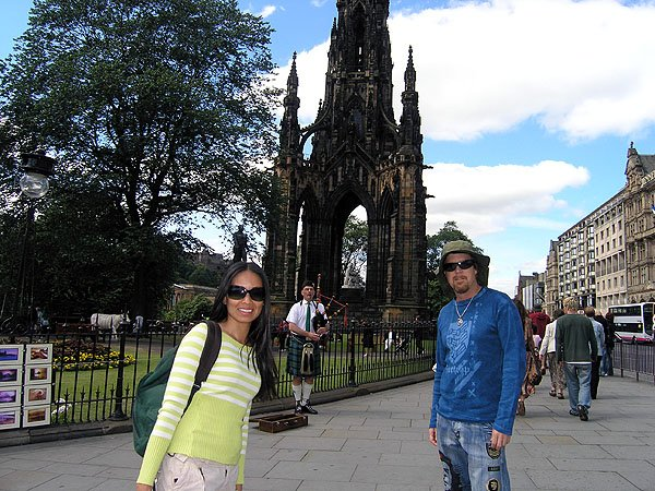 Scott Monument Victorian Gothic