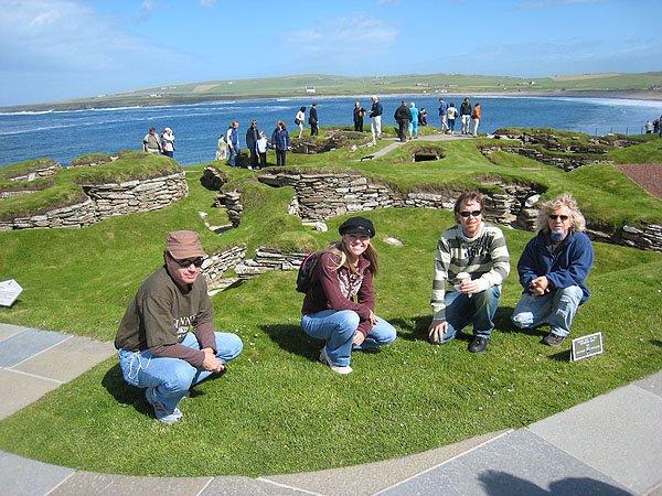 Skara Brae Orkney Scotland