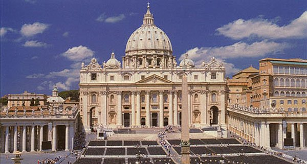 St Peters Basilica In St Peters Square