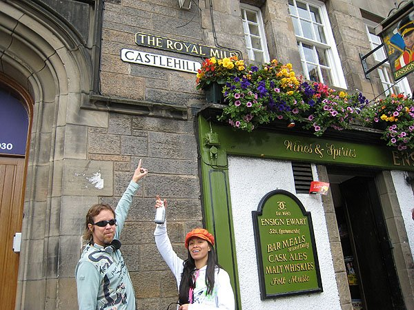 The Famous Royal Mile