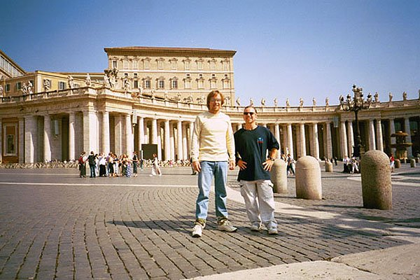 The Papal Palace of The Vatican