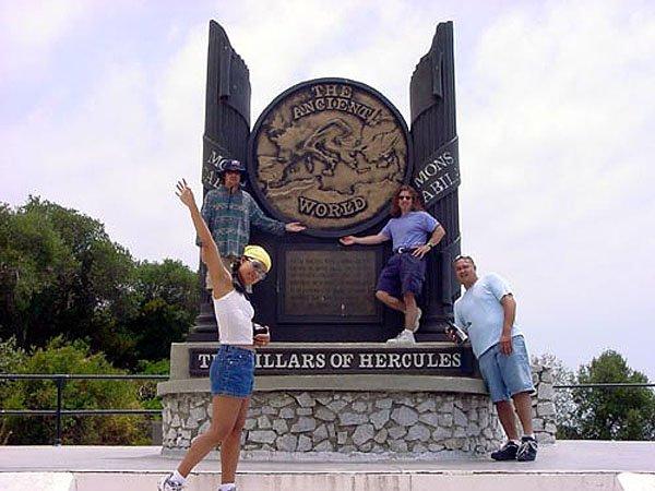 The Pillars of Hercules Sign