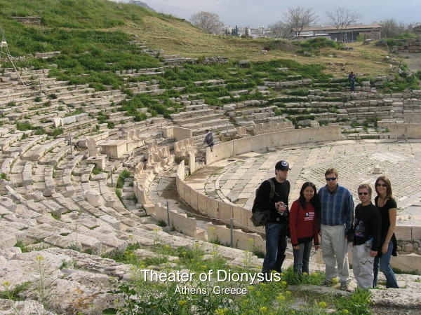 Theater of Dionysus In Ancient Greece