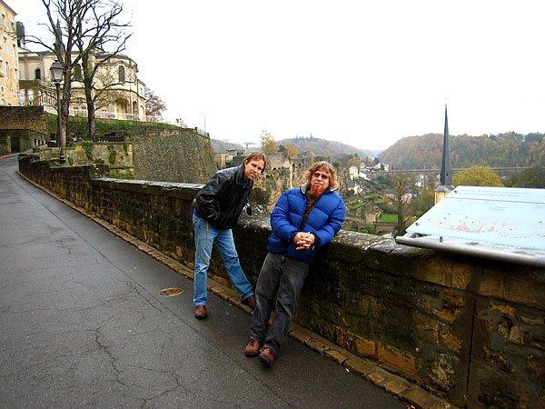 Walking Near The Castle