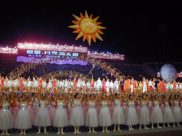 2002-09-14 Dalian Stadium Performers 007