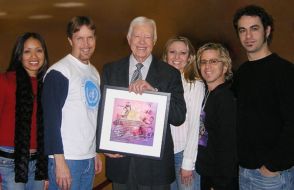 2004-12-15 Los Angeles CA President Jimmy Carter 000