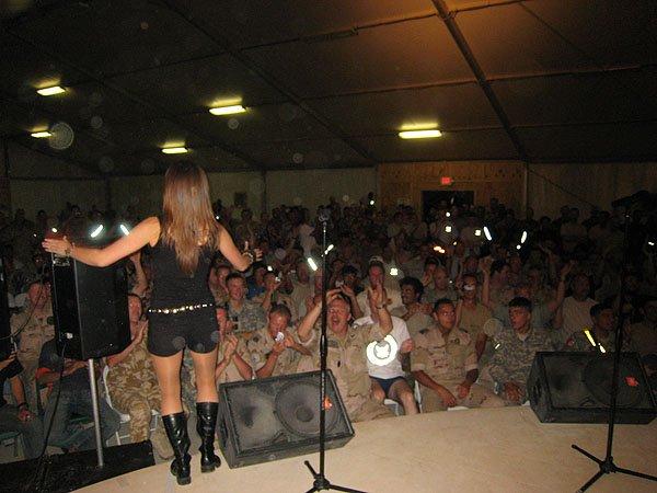 2007-05-10 Kandahar Afghanistan Fest Tent 011