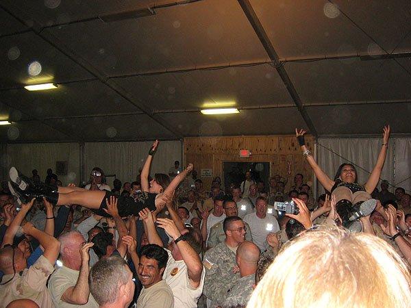 2007-05-10 Kandahar Afghanistan Fest Tent 014