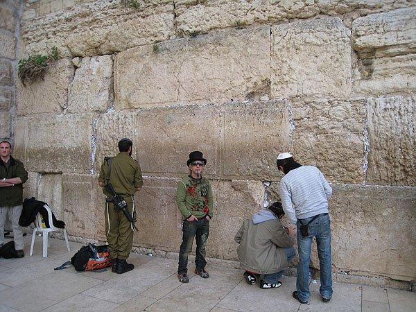 2007-12-20 Jerusalem Israel Western Wall 007
