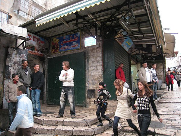 2007-12-21 Jerusalem Israel Via Dolorosa 004