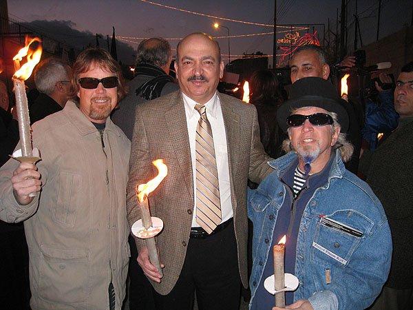 2007-12-22 Bethlehem Palestine Beit Sahour Mayor Hany Haik