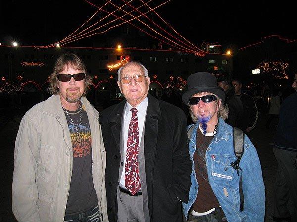 2007-12-23 Bethlehem Palestine Mayor of Bethlehem Dr Victor Bataresh