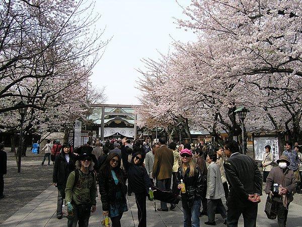 2009-04-05 Tokyo Japan Yasukuni Jinja Precincts 002