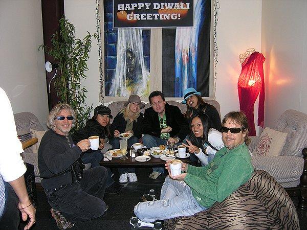 2009-10-20 Liquid Blue Band In Dunedin New Zealand 000