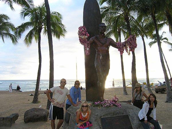 2009-11-16 Liquid Blue Band in Oahu HI Waikiki Beach 000