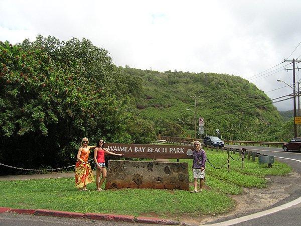 2009-11-16 Liquid Blue Band in Oahu HI Waimea Bay 002