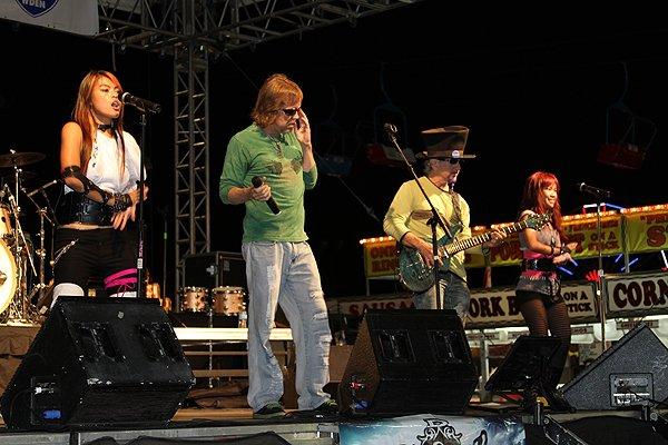 2010-10-13 Liquid Blue Band in Perry GA at Georgia National Fair 012